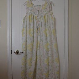 Sleeveless Summer Nightgown- Size L